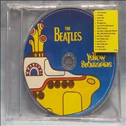 The Beatles Yellow Submarine Songtrack UK CD album Promo