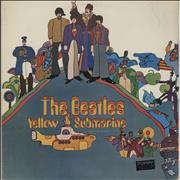 The Beatles Yellow Submarine Brazil vinyl LP