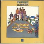 The Beatles Yellow Submarine UK cd album box set