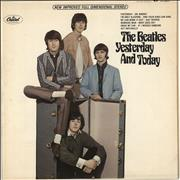 The Beatles Yesterday And Today - 2nd State USA vinyl LP