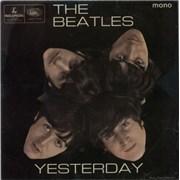 """The Beatles Yesterday EP - 1st - VG UK 7"""" vinyl"""