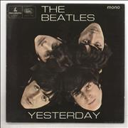 "The Beatles Yesterday EP - EMI - 4pr UK 7"" vinyl"