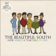 Click here for more info about 'The Beautiful South - How Long's A Tear Take To Dry - CD1'