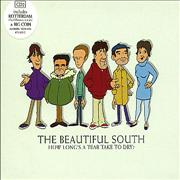 Click here for more info about 'The Beautiful South - How Long's A Tear Take To Dry'