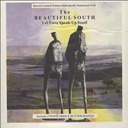 Click here for more info about 'The Beautiful South - Let Love Speak Up Itself - Postcard Pack'