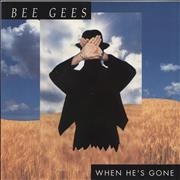 Click here for more info about 'The Bee Gees - When He's Gone'