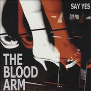 Click here for more info about 'The Blood Arm - Say Yes - Orange & Red Flecked Vinyl'