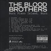 Click here for more info about 'The Blood Brothers - Burn Piano Island, Burn'