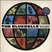 Click here for more info about 'The Bluebells - Sisters - Stickered sleeve / Gold promo stamped'
