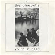 Click here for more info about 'The Bluebells - Young At Heart - Black & White Picture Sleeve'