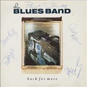 Click here for more info about 'The Blues Band - Back For More - Autographed'