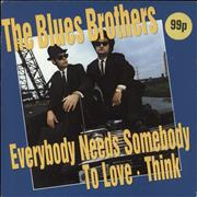 Click here for more info about 'The Blues Brothers - Everybody Needs Somebody To Love / Think'
