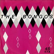 "The Bongos In The Congo UK 7"" vinyl"
