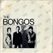 "The Bongos Telephoto Lens UK 7"" vinyl"