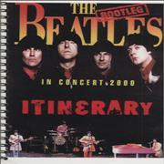 The Bootleg Beatles In Concert 2000 UK Itinerary