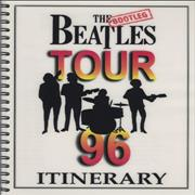 The Bootleg Beatles Tour 1996 UK Itinerary