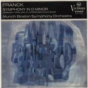 Click here for more info about 'The Boston Symphony Orchestra - Franck: Symphony In D Minor - Debussy: Prélude À L'Après-Midi D'Un Faune'
