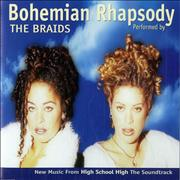 Click here for more info about 'The Braids - Bohemian Rhapsody - Blue picture sleeve'