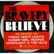 Click here for more info about 'The Bravery - Believe'