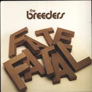 Click here for more info about 'The Breeders - Fate To Fatal'