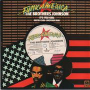 Click here for more info about 'The Brothers Johnson - It's You Girl - A Label'