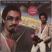 Click here for more info about 'The Brothers Johnson - Light Up The Night - Hype stickered'