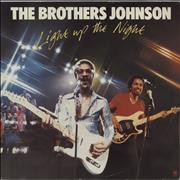 Click here for more info about 'The Brothers Johnson - Light Up The Night'