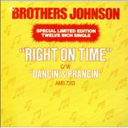 Click here for more info about 'The Brothers Johnson - Right On Time'