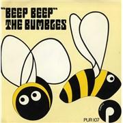 "The Bumbles Beep Beep UK 7"" vinyl Promo"
