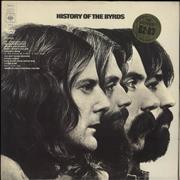 Click here for more info about 'The Byrds - History Of The Byrds - 1st - Stickered Sleeve'
