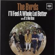 Click here for more info about 'The Byrds - I'll Feel A Whole Lot Better - RSD12 - Blue Vinyl'