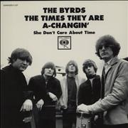 Click here for more info about 'The Byrds - The Times They Are A-Changin' - RSD BF11 - Red Vinyl'
