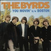 Click here for more info about 'The Byrds - You Movin' - Orange Vinyl'