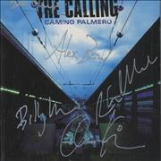 Click here for more info about 'The Calling - Camino Palmero - Autographed Picture Sleeve Booklet'