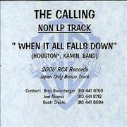 Click here for more info about 'The Calling - Non LP Track'