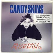 Click here for more info about 'The Candyskins - Monday Morning - White Vinyl + Numbered Sleeve'