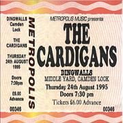 Click here for more info about 'The Cardigans - Concert Ticket'