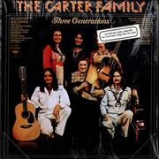 Click here for more info about 'The Carter Family - Three Generations - promo stickered'