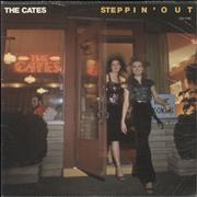 Click here for more info about 'The Cates - Steppin' Out'