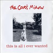 Click here for more info about 'The Cat's Miaow - This Is All I Ever Wanted EP'