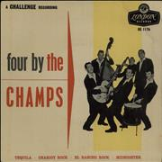 Click here for more info about 'The Champs - Four By The Champs - 2nd'