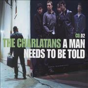 Click here for more info about 'The Charlatans (UK) - A Man Needs To Be Told - CD2'
