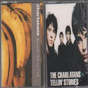 Click here for more info about 'The Charlatans (UK) - Between 10th and 11th & Tellin' Stories Cassette Albums'