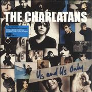 Click here for more info about 'The Charlatans (UK) - Us And Us Only - Transparent vinyl'