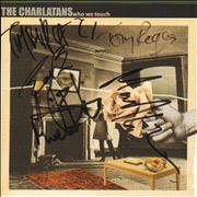 Click here for more info about 'The Charlatans (UK) - Who We Touch - Fully Autographed'
