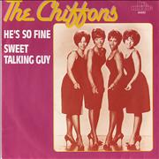 Click here for more info about 'The Chiffons - He's So Fine / Sweet Talking Guy'