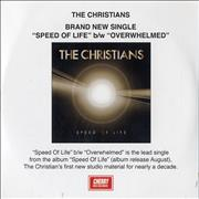 Click here for more info about 'The Christians - Speed Of Life'