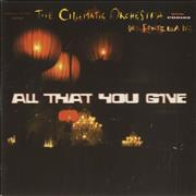 Click here for more info about 'The Cinematic Orchestra - All That You Give'