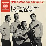 Click here for more info about 'The Clancy Brothers & Tommy Makem - The Moonshiner - P/S'