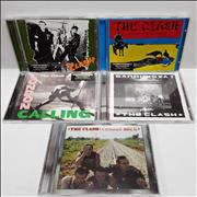 Click here for more info about 'The Clash - 1977-1982 Studio Albums'
